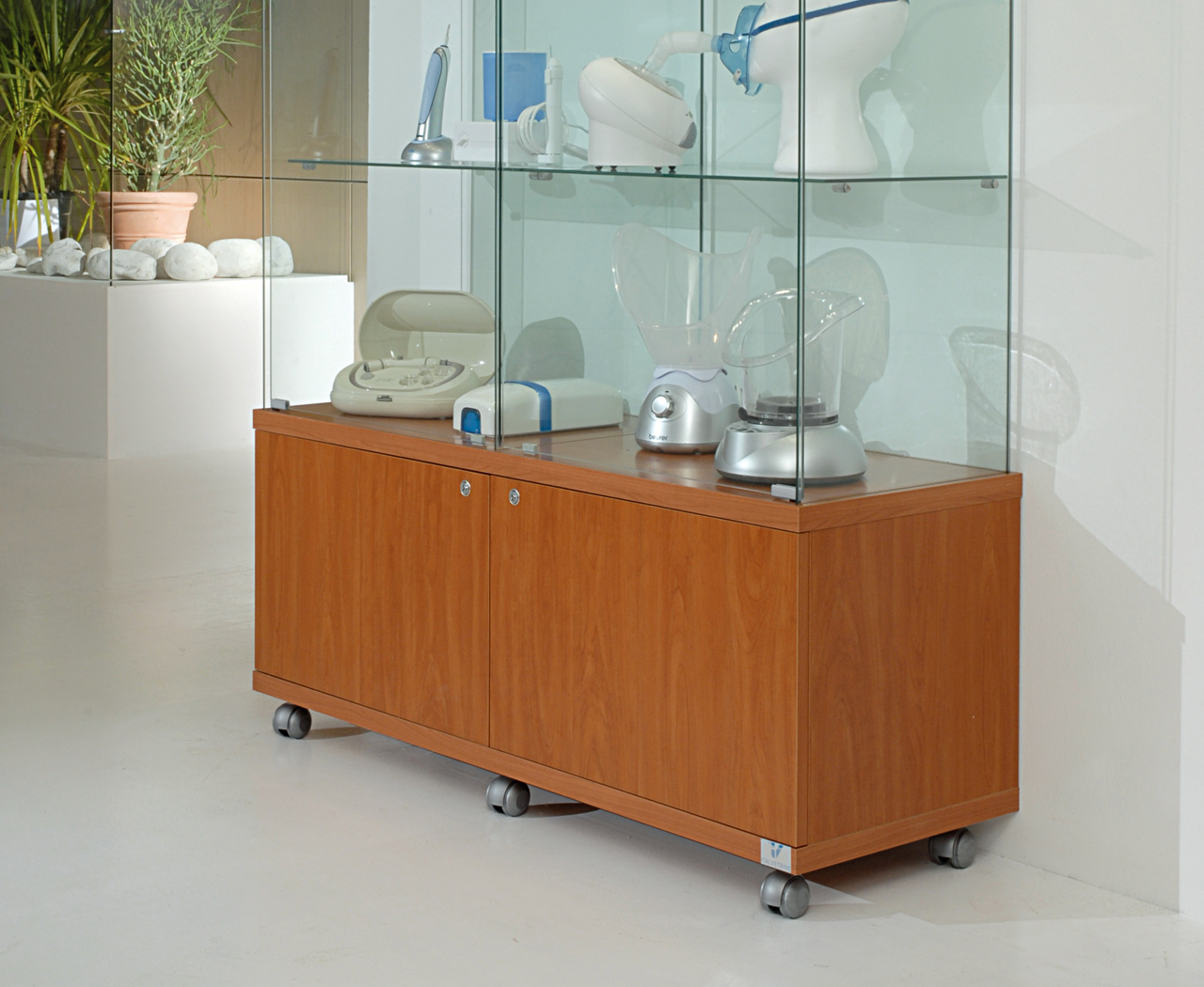 View Display Cabinets on Castors category
